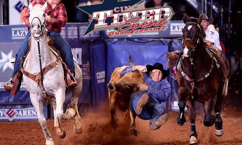 """Justin Thigpen will defend his CINCH Timed Event Championship title during this year's """"Ironman of ProRodeo,"""" set for Friday, May 13-Sunday, May 15, at the Lazy E Arena. (PHOTO BY JAMES PHIFER)"""