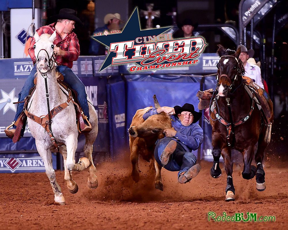 "Justin Thigpen will defend his CINCH Timed Event Championship title during this year's ""Ironman of ProRodeo,"" set for Friday, May 13-Sunday, May 15, at the Lazy E Arena. (PHOTO BY JAMES PHIFER)"