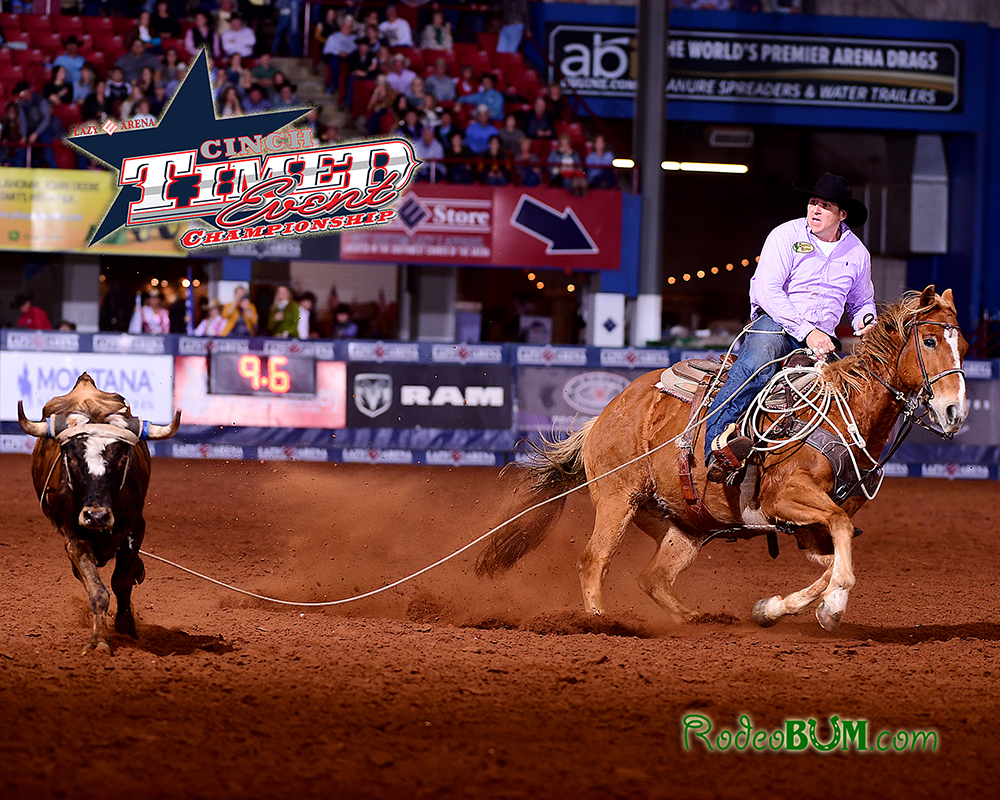Justin Thigpen has been dominant through the first four rounds of the CINCH Timed Event Championship. He has a 76.8-second lead over the field heading into Sunday's final round. (PHOTO BY JAMES PHIFER)