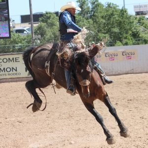 Isaac Diaz is one of many National Finals Rodeo qualifiers who will make their way to Guymon, Oklahoma, next week for the annual Pioneer Days Rodeo.