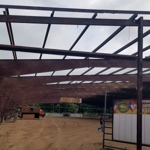 The Waller County Fair Association completely remodeled the show barn, gutting it down to the structural steel before revamping and making updates. (PHOTO COURTESY OF THE WALLER COUNTY FAIR ASSOCIATION)