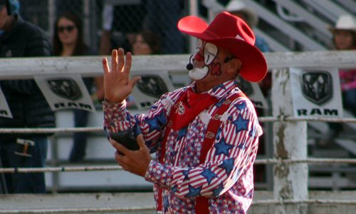 Renowned rodeo clown Keith Isley will return to Duncan, Oklahoma, after six years to entertain the crowds that attend the Chisholm Trail Ram Prairie Circuit Finals Rodeo.