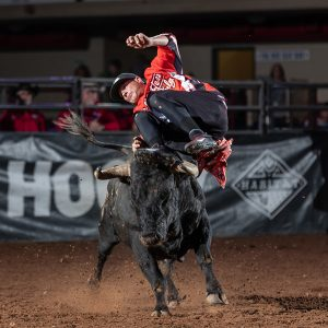 Aaron Mercer, the No. 1 man in the Bullfighters Only Pendleton Whisky World Standings, will lead a charge of the top men in the game to compete at the inaugural BFO Kent Cup near Seattle. (PHOTO BY TODD BREWER)