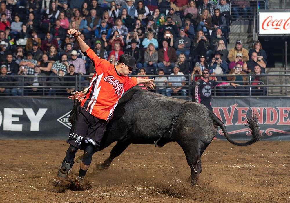 Aaron Mercer's victory at the Bullfighters Only Kent Cup this past weekend extended his lead in the Pendleton Whisky World Standings. (PHOTO BY TODD BREWER)
