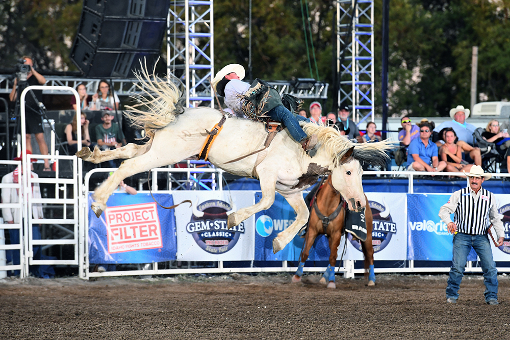 The Gem State Classic Pro Rodeo in Blackfoot, Idaho, was named the PRCA's Small Rodeo of the Year in 2019.
