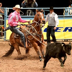 Tyson Durfey, the 2016 world champion tie-down roper, will be one of a couple dozen ropers who will compete at Tuf Cooper's New Year's Eve Roping & Concert, set for 7:30 p.m. Tuesday, Dec. 31, at Cowtown Coliseum in Fort Worth, Texas. (PRCA PRORODEO PHOTO BY GREG WESTFALL)