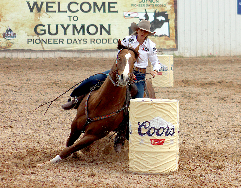 Guymon Pioneer Days Rodeo will be broadcast nationally on The Cowboy Channel starting with this year's rodeo. Shali Lord, a two-time National Finals Rodeo qualifier, is expected to return to the Oklahoma Panhandle this May.