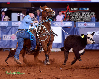 Jordan Ketscher stayed strong and steady to win the first round of the CINCH Timed Event Championship. After two rounds, he still sits No. 1 overall. (PHOTO BY JAMES PHIFER)
