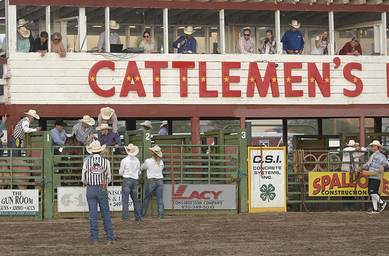The 120th straight edition of the Cattlemen's Days will happen, thanks to the generosity of many local people in Gunnison and some valuable sponsors. (PHOTO BY ROBBY FREEMAN)