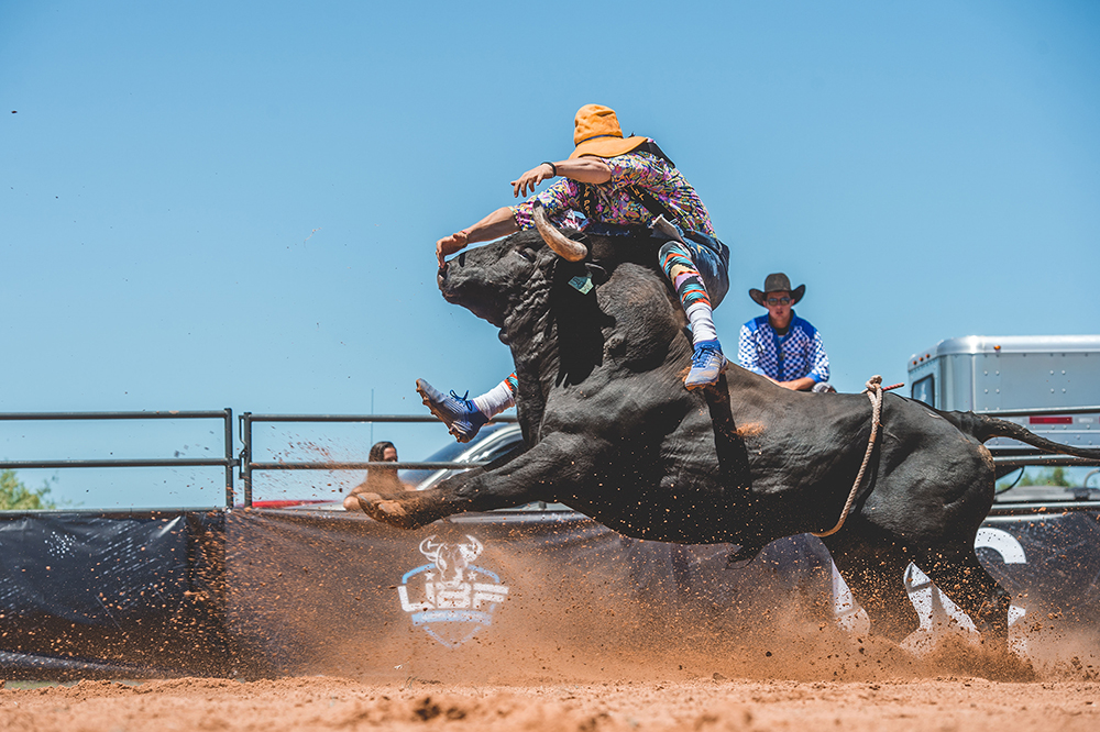 Justin Josey is excited to leap back into the action for the Ultimate Bullfighters Southern Classic, set for 7 p.m. Eastern Saturday in Bowersville, Georgia. (PHOTO BY CLICK THOMPSON)