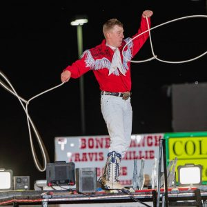 Rider Kiesner will be the featured entertainer during the Chisholm Trail RAM Prairie Circuit Finals Rodeo, set for Oct. 16-17 in Duncan, Oklahoma.